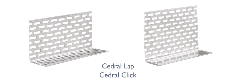 What trims do i need? - Cedral perforated closure