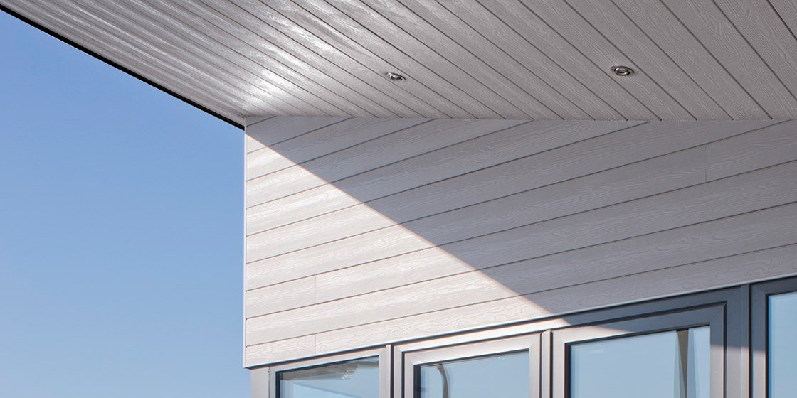 Cedral Click wood effect tongue and groove fibre cement cladding